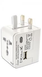 Fonerange Power Universal Worldwide Travel Adapter