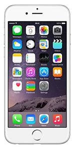 Apple Iphone 6 Plus 64GB Simfree Mobile Phone - White Silver