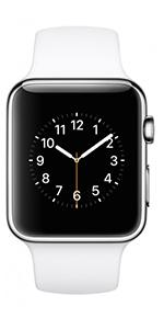 Apple Sports Band Watch 42MM - White