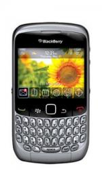 Blackberry 8520 Curve Dark Silver Phone On Orange Pay As You Go