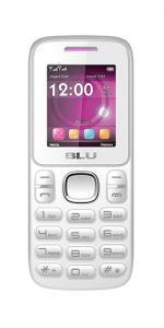 Blu Zoey Dual Sim Unlocked GSM Mobile phone- White/Pink