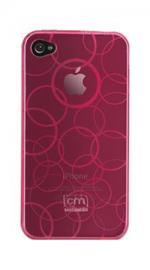 Case-Mate Gelli Case Cover Circles Pink for Apple iPhone 4/4S