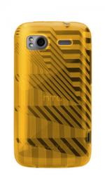 Case-Mate HTC Sensation Gelli Case Cover Architecture Yellow