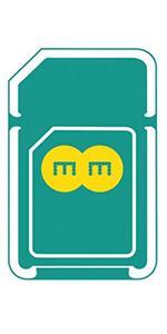 EE 4G PAYG Network Triple Data 200MB Sim Pack