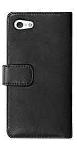 Fonerange Apple iPhone 7 Plus Leather Booklet Case - Black
