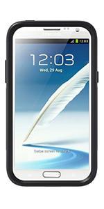 Fonerange Samsung Galaxy Note 2 Otterbox Commuter Series Case - Black