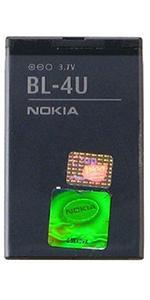 Genuine Nokia BL-4U Standard Battery 1000 mAh