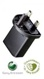 Genuine Sony Ericsson EP-800 3 Pin Mains Charger Plug (Without cable)
