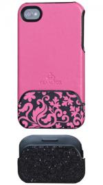 GlamRox Apple iPhone 4/4S Night & Day Pink Case Cover IPGR-ND-PNK1-I4-DB