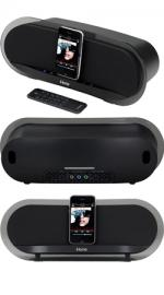 iHome iP3 Studio Series Bongiovi DPS Sound System for Apple iPod/iPhone
