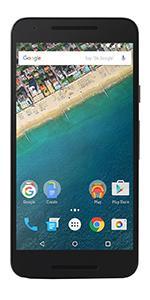 LG Nexus 5X 32GB Sim Free Mobile Phone - Black