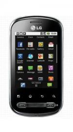 LG Optimus Me P350 Android T-Mobile Pay As You Go Phone Silver