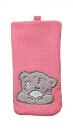 Me To You Pink Mobile Phone Cleaning Sock SKMU-M1-FUR1-BC