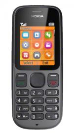 Nokia 100 O2 Pay As You Go Mobile Phone - Black