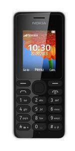 Nokia 108 on Vodafone Pay As You Go Mobile Phone- Black
