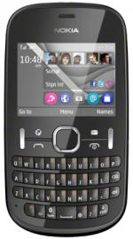 Nokia Asha 201 Vodafone Pay As You Go Mobile Phone - Slate Grey