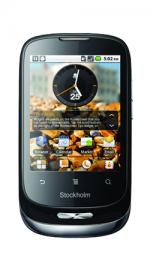 Orange Stockholm Android Pay as You Go Mobile Phone Black