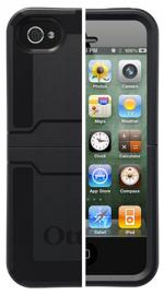 OtterBox Reflex Series Case Cover Black for Apple iPhone 4S/4
