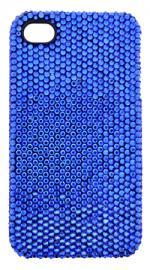 Fonerange Apple iPhone 4/4S Bling Crystal Shell Case Blue