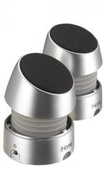 iHome iHM79 Silver Rechargeable Portable Speakers