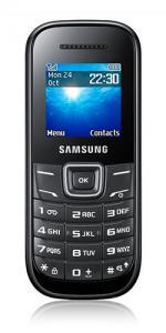 Samsung E1200 Keystone 2 Sim Free Unlocked Mobile Phone - Black
