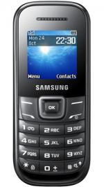 Samsung E1200 Sim Free Unlocked Mobile Phone - Black