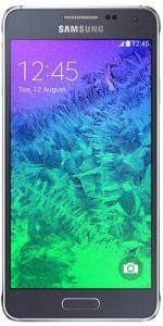 Samsung Galaxy Alpha Sim free 32GB Smartphone - Black