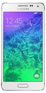 Samsung Galaxy Alpha Sim free 32GB Smartphone - White