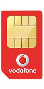 Vodafone Pay As You Go International Triple Sim Pack