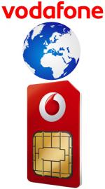 Vodafone Pay As You Go Standard Sim Card International